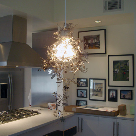 Garland Metal Light Shade, Designed By Todd Boontje (from Lumens.com, $69),  Draped Over A Kvintett Ceiling Lamp (IKEA, $20). Ideas